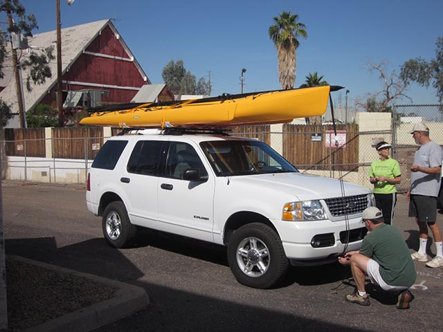 Learn How To Transport A Rented Kayak