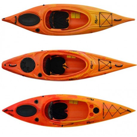 Riot Quest 9.5, 10, and 10HV Kayaks
