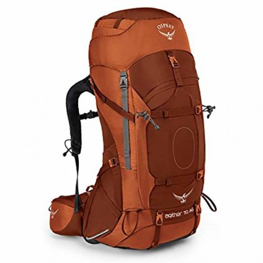 Osprey Aether 70L AG Backpack Orange Lg-Closeout-Free shipping