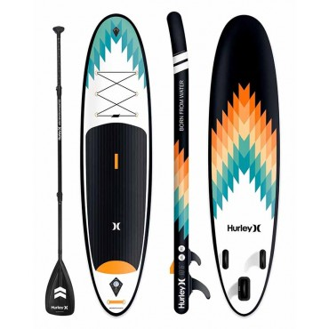 """Hurley Inflatable 10'6"""" Paddle Board"""