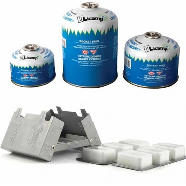 Backpacking Canister Stove Fuel   Esbit Fuel