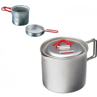 Evernew Cookware - Backpacking, Titanium