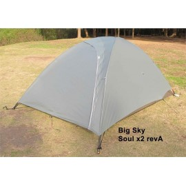 Rent Tent - 2-person Tent for Backpacking