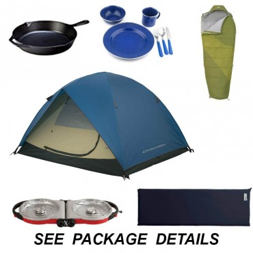 Camping gear rentals for European visitors