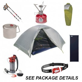 Rent a Backpacking Package for 2 Persons