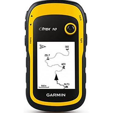 Rent a Garmin eTrex 10 handheld GPS - Perfect for hiking, Geocaching and Outdoor activity