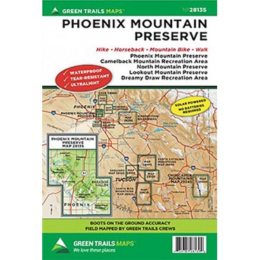 Dreamy Draw / Piestawa / Camelback Trail Maps