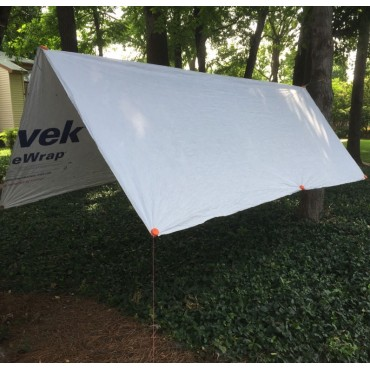 Tyvek Material for Ground Cloth or Shelter. Buy by the Linear Foot (9' roll).