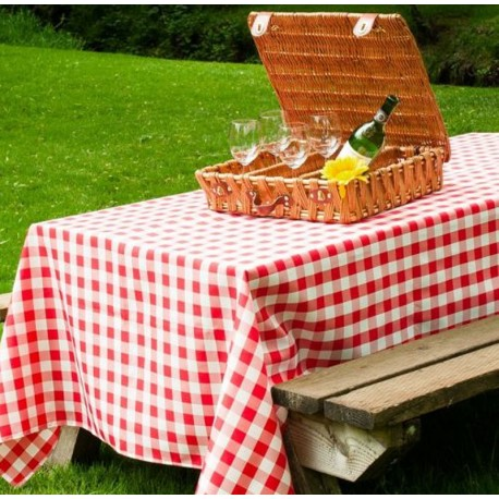 Camp Table Cloth for picnic tables