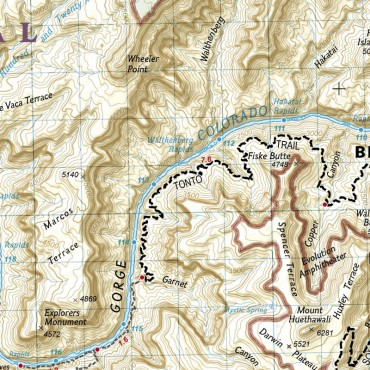 Trail Maps for Backpackers