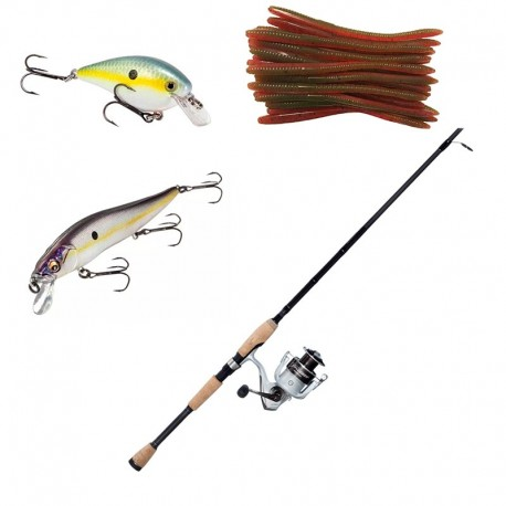 Rent Fishing Rod Reel and Lures Package