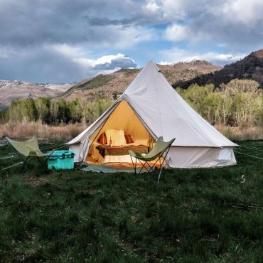 Rent Luxury Bell Canvas Tents for Glamping and Groups