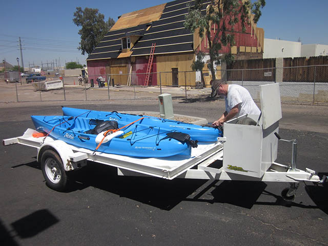 Kayak rentals in Phoenix Arizona