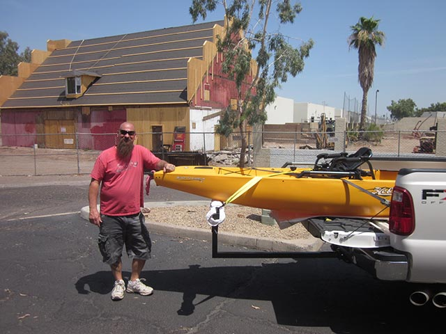 Kayak rentals in Mesa Arizona