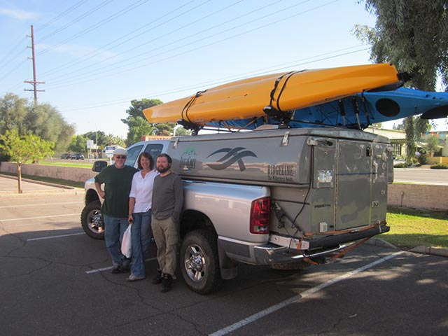 Rent a kayak in Phoenix Arizona