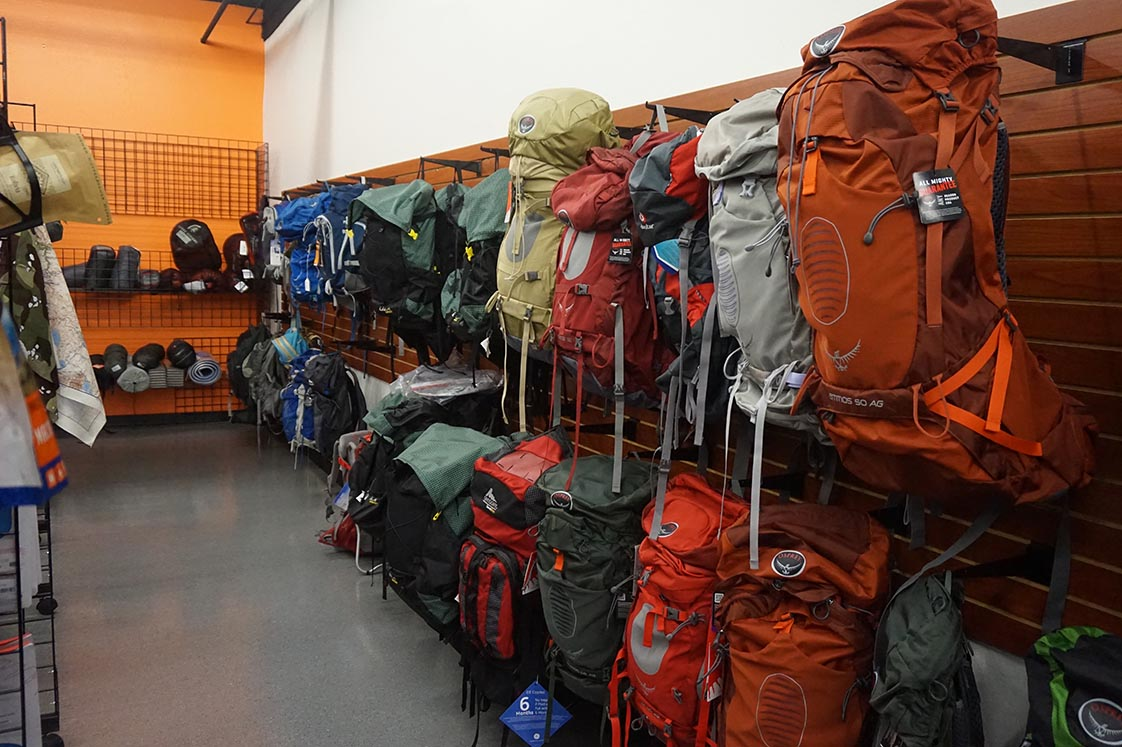 backpacking store tempe