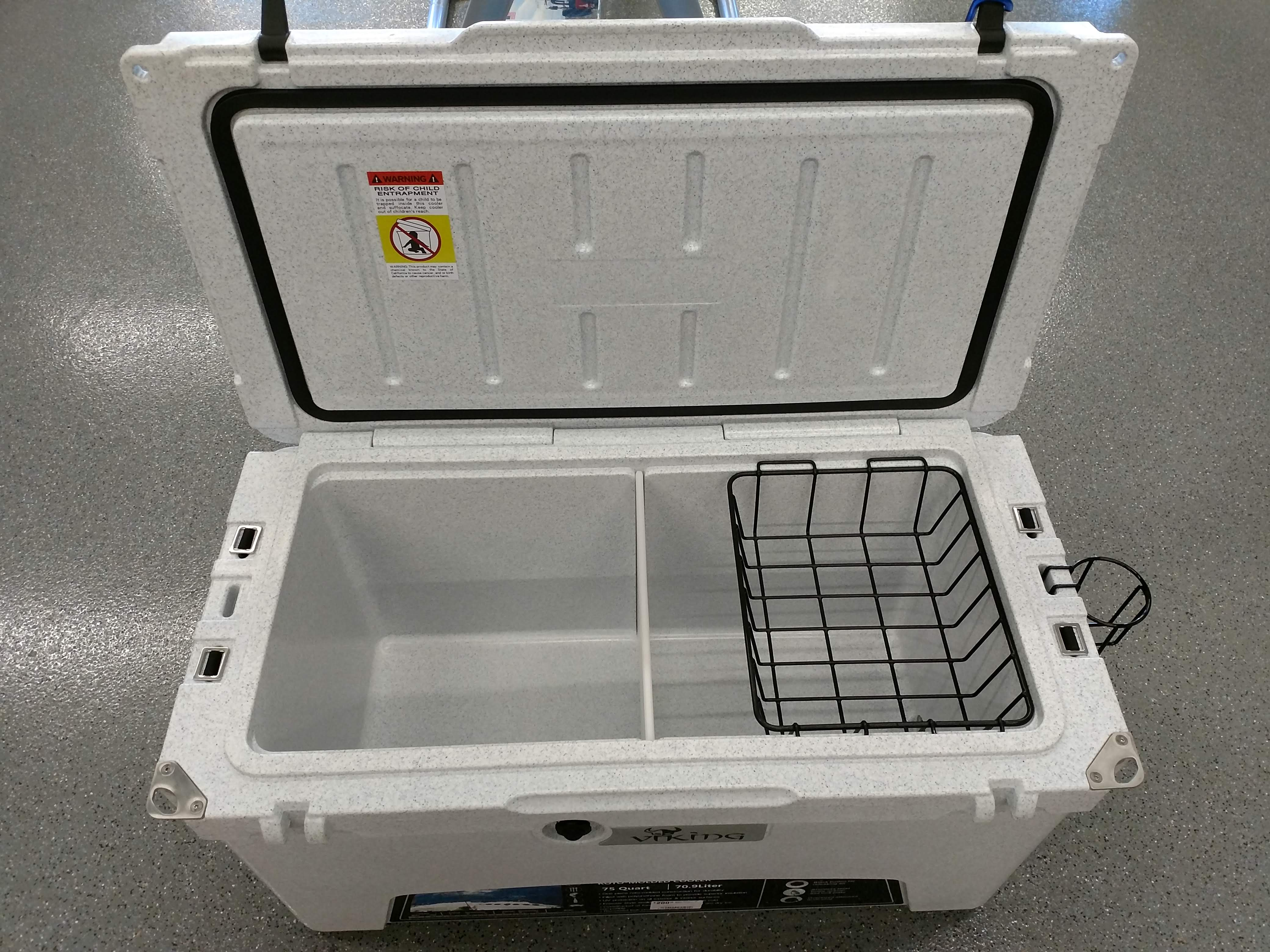 Rent a high quality ice cooler for car camping trips