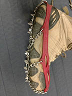 renting microspikes for winter travel