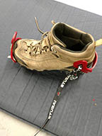 renting of ice crampons