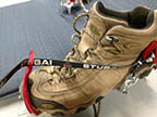 renting crampons for alpine use