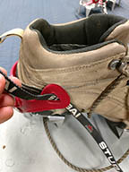 rentals of crampons for hiking shoes
