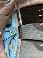 adjust straps on a rental backpack