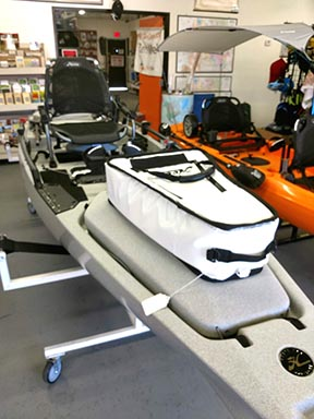 See Hobie Kayaks in our Tempe Arizona store - LowerGear Outdoors
