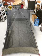 body setup rented tent