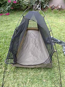 rent a 1-person backpacking tent from Big Sky