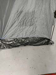 hiring a portable camping privacy tent