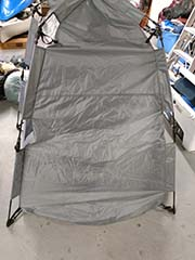 hire privacy shelter for campground use