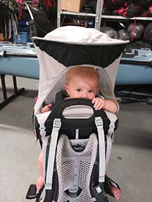 hiking baby carrier for rent