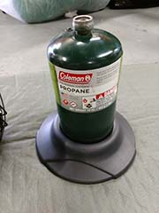 propane heater rental for camping