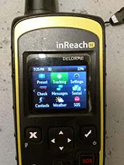 more functions of rented garmin inreach