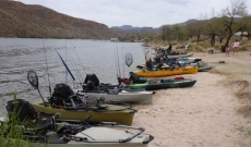 Our next kayak bass fishing tournament coming up at Canyon Lake, September 28!