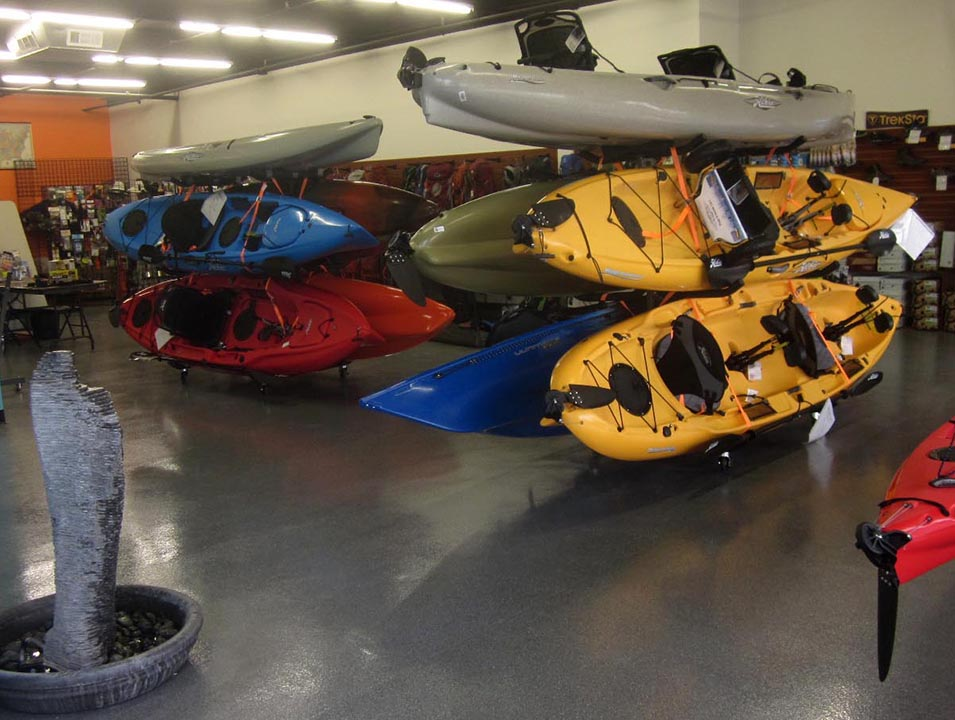 Phoenix Arizona Hobie Kayaks and camping supplies