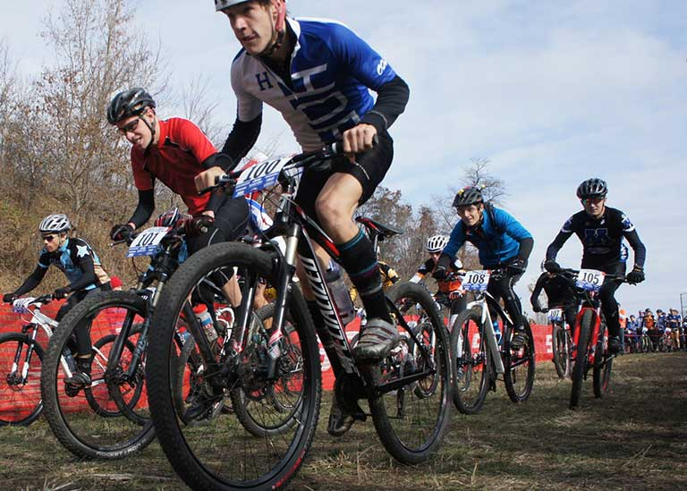Tracking for mountain bike and adventure races using SPOT Messenger devices